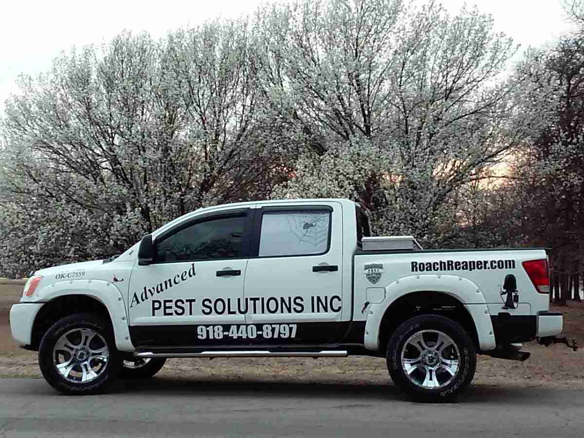 Advanced Pest Solutions Truck